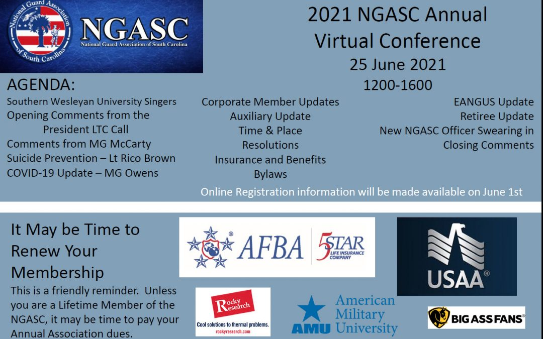 2021 NGASC Annual Virtual Conference